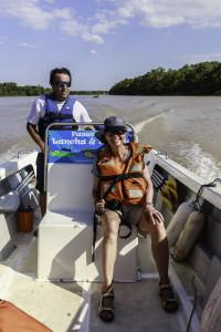 Bootsfahrt auf dem Rio Paraná