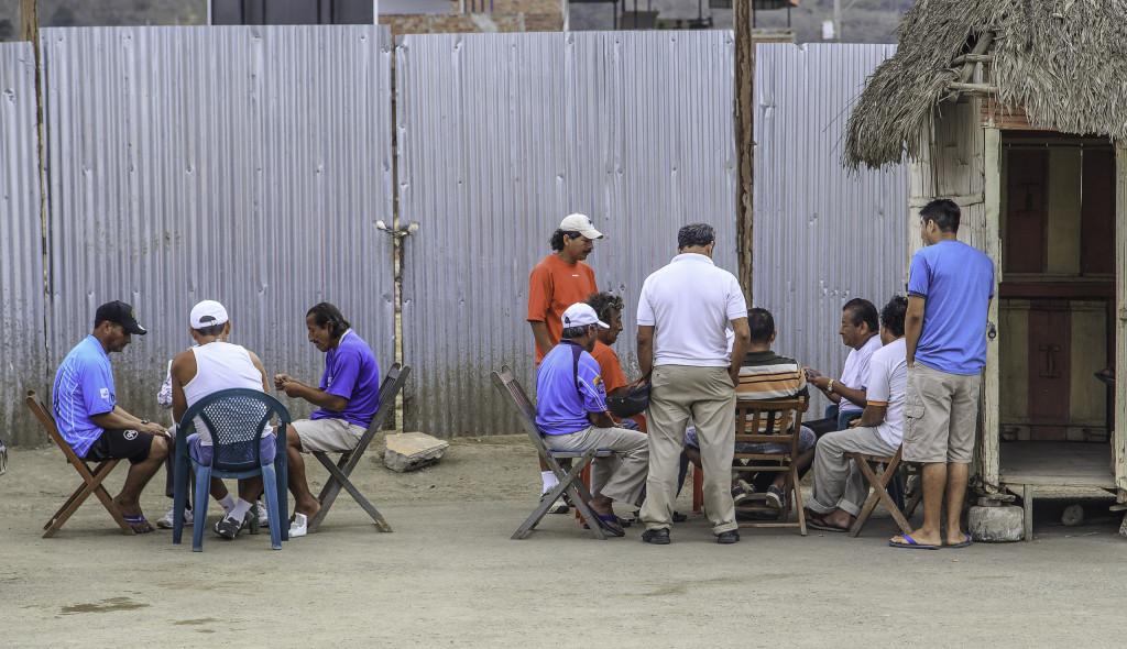 Spieler in Puerto Lopez