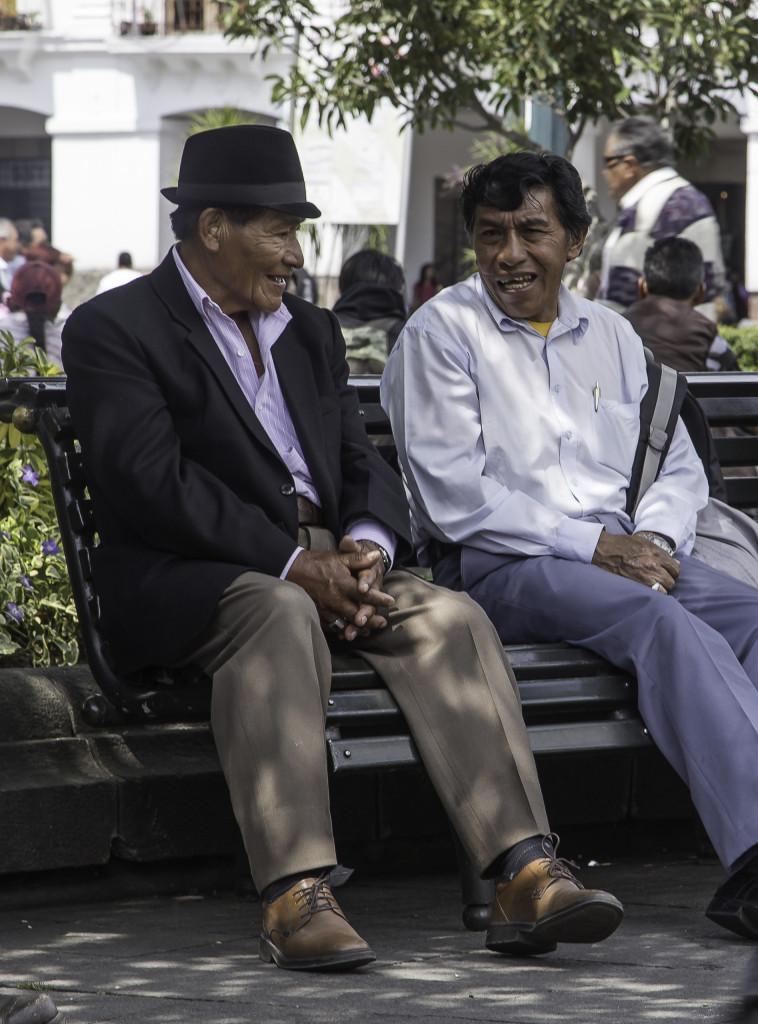 Schwatz in Quito