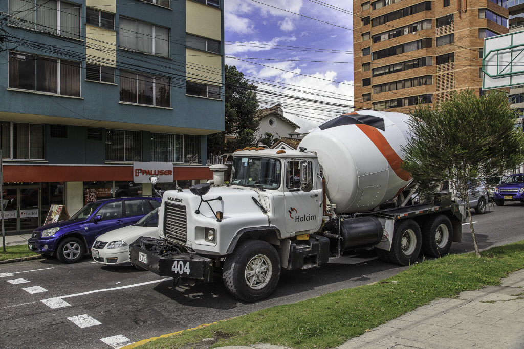 Holcim auch in Quito