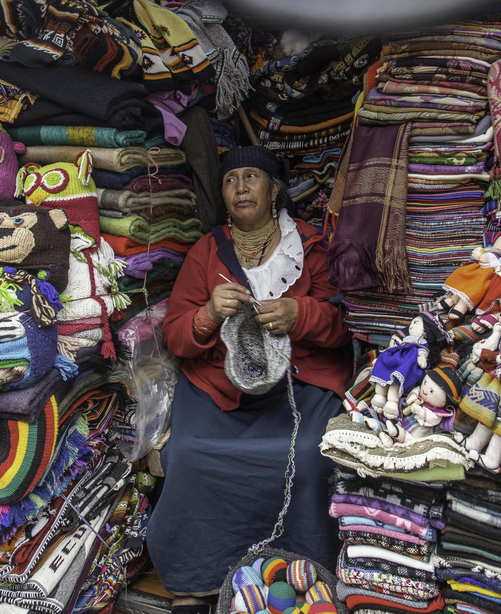 Markt in Quito