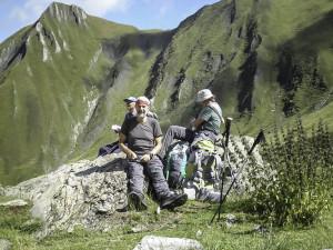 Aufstieg zum Patnaul Pass