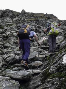 Im Aufstieg zum Patnaul Pass