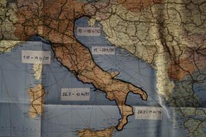 Italien umrundet