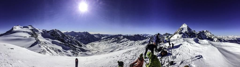 Panorama auf 3'400m