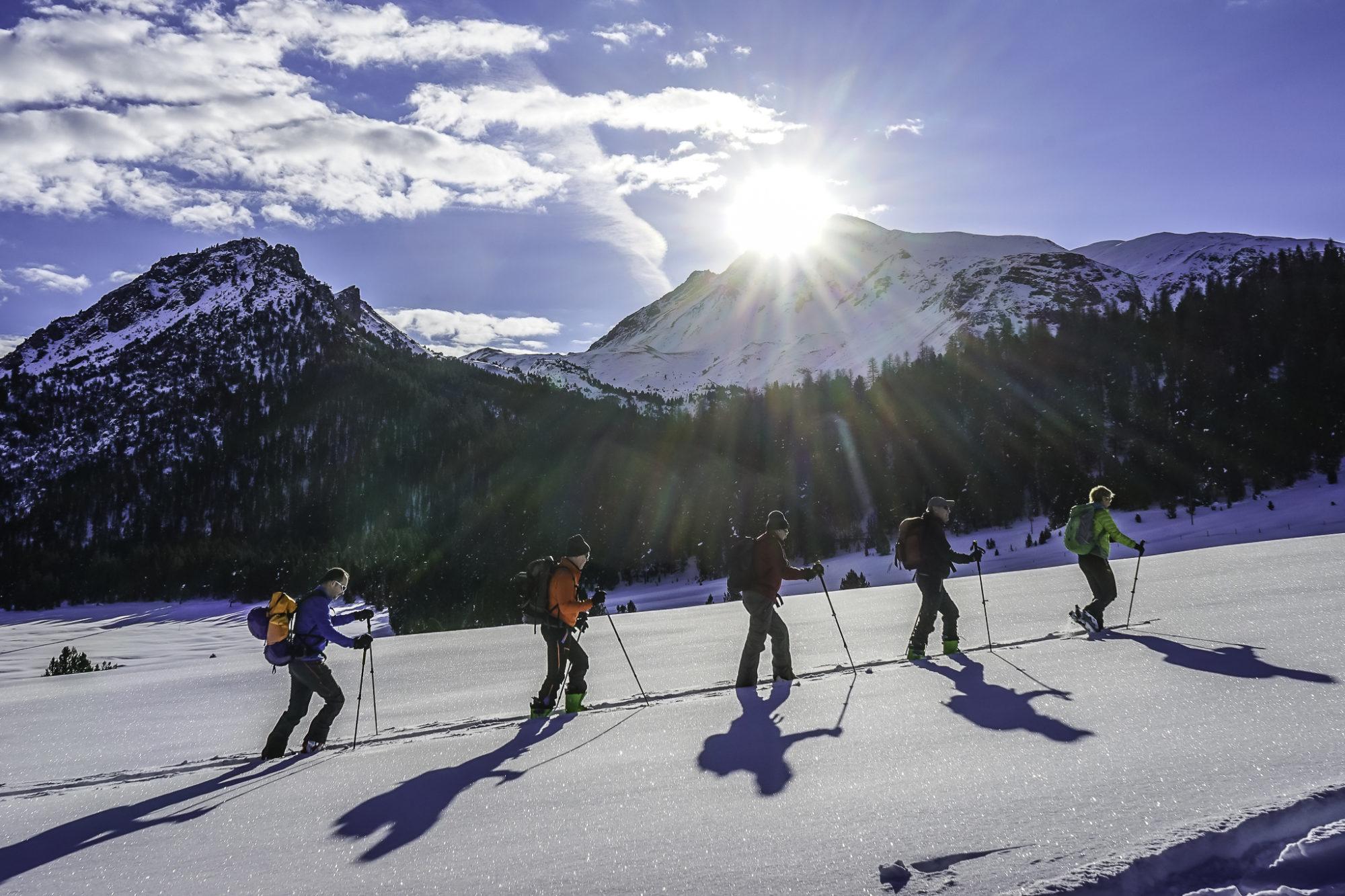 Skitourenwoche Vinschgau Januar 2016