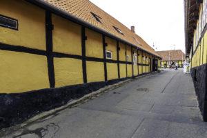Typisches altes Riegelhaus