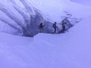 Über die Gletscher