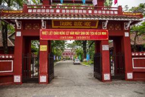 Uni, wo Ho chi Minh war