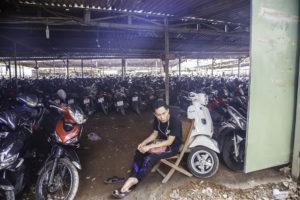 Parkhaus in Vietnam