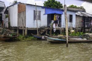 Vom Boot direkt ins Haus