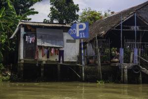 Parkordnung am Mekong
