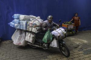 Ho Chi Minh City Schwertransport