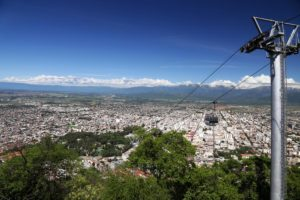 Sicht vom San Bernardo